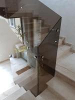 balustrada sticla bronz 4