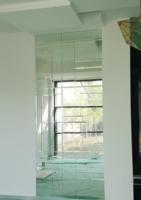 Placare perete cu oglinzi fazetate