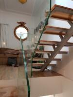 balustrada sticla securizata si laminata 8.4.8